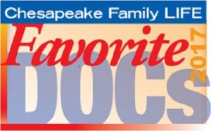 Chesapeake Family Life's 2017 Favorite Doctor