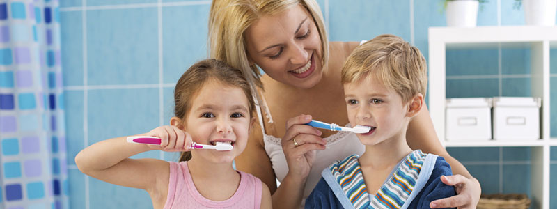 Fun ways for kids to brush teeth