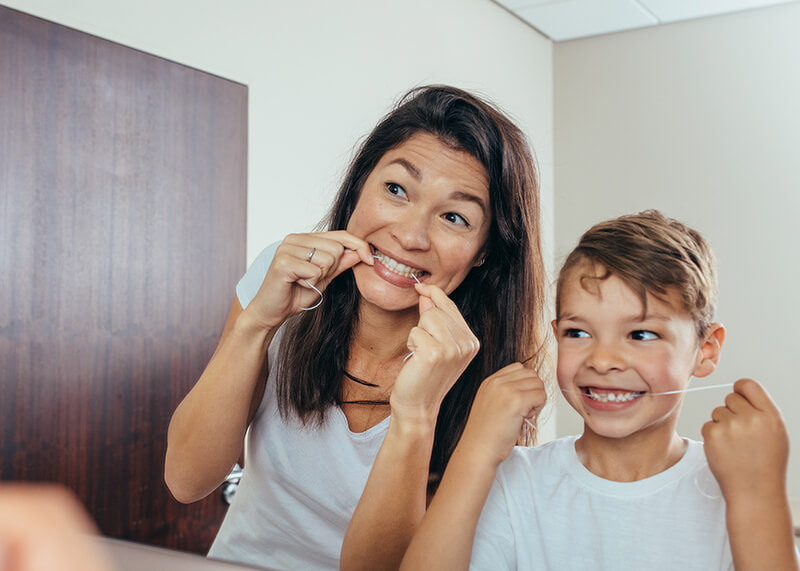 facts about flossing feature